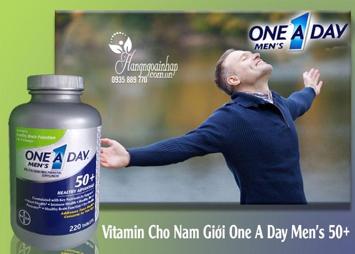 Vitamin Cho Nam Giới One A Day Men's 50+ Của Mỹ