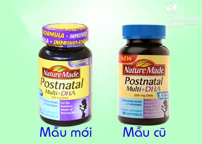 vitamin cho phụ nữ sau sinh