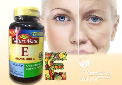 Vitamin E thiên nhiên Nature Made 400IU hộp 300 viên của Mỹ