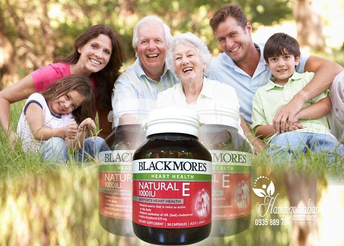 Viên uống Blackmore Natural Vitamin E 1000IU của Úc