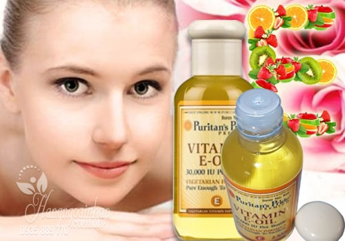Vitamin E-Oil Puritan's Pride tinh khiết 30.000IU dạng nước 74ml của Mỹ