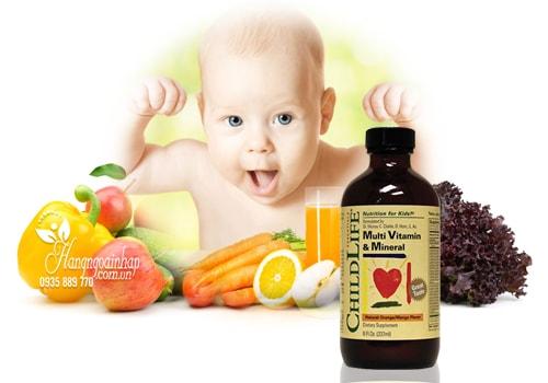 ChildLife Multi & Mineral - Vitamin tổng hợp cho bé