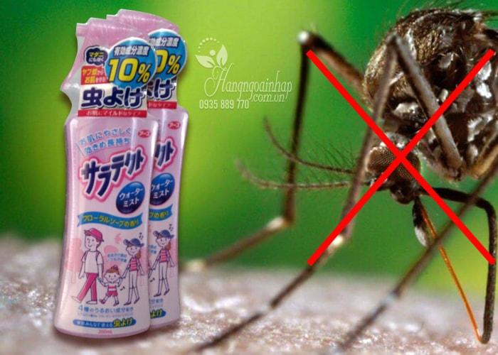 Xịt chống muỗi Earth Chem Sarah 200ml của Nhật Bản