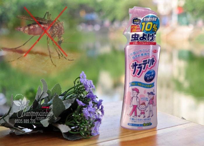 Xịt chống muỗi Earth Chem của Nhật Bản