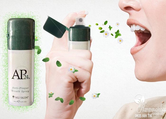 Nước xịt thơm miệng AP24 Anti-Plaque Breath Spray 30ml