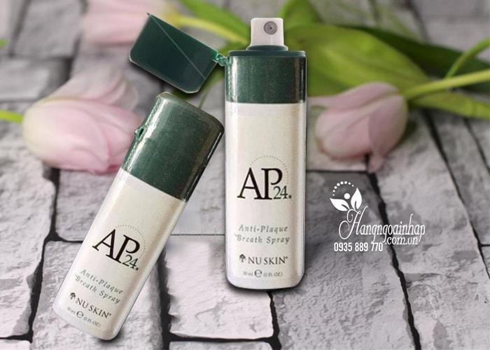 Nước xịt thơm miệng AP24 Anti-Plaque Breath Spray 30ml của Mỹ