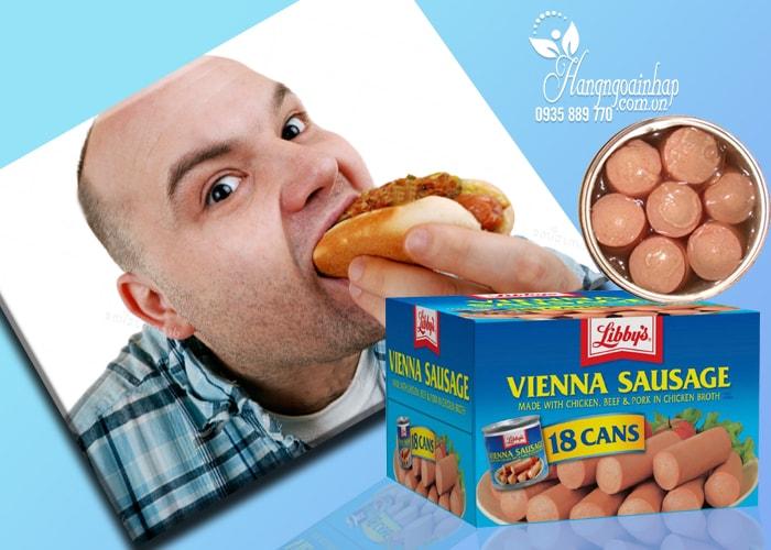 Xúc xích Libbys Vienna Sausage của Mỹ