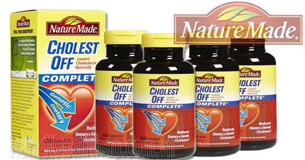 Nature Made Cholestoff  120 viên