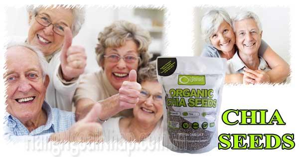 hạt chia seeds organic 1kg của úc
