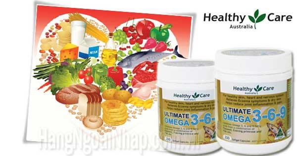 Omega 3 6 9 Healthy Care
