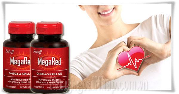 Schiff MegaRed Omega3 Krill Oil Của Mỹ 110 Viên
