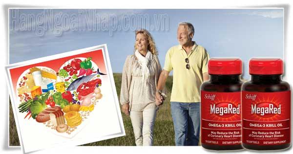 Viên Uống Schiff MegaRed Omega3 Krill Oil 110 Viên Của Mỹ