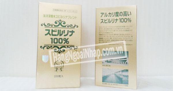 Tảo Xoắn Spirulina Nhật Bản 22000 viên