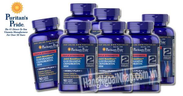 Glucosamine Chondroitin Msm Puritans Pride 90 Viên Của Mỹ