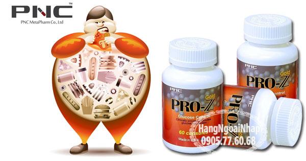 Pro Z Gold Glucose Control thực phẩm chức năng hỗ trợ tiểu đường của Mỹ