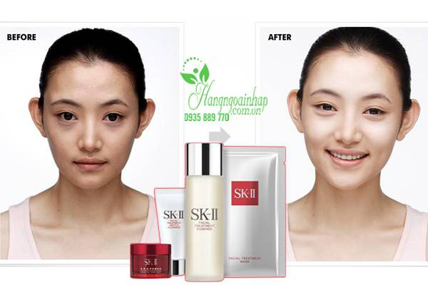 Bộ sản phẩm dưỡng da chống lão hóa Set SK-II Bestseller Trial Kit Nhật Bản