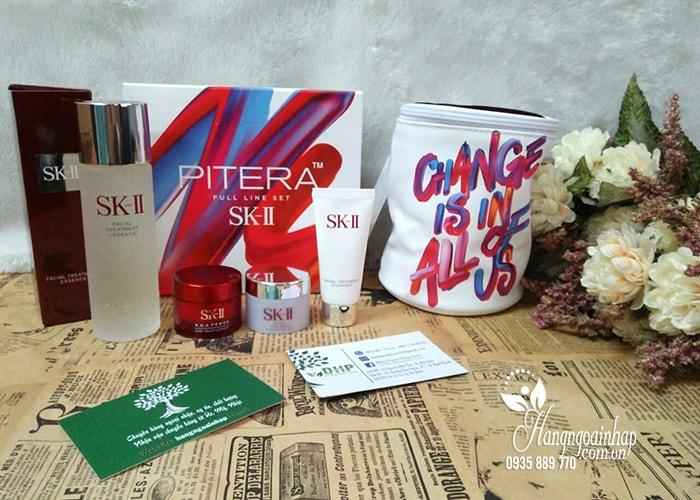 Bộ sản phẩm dưỡng da Set Mini SK-II 4 món Pitera của Nhật Bản