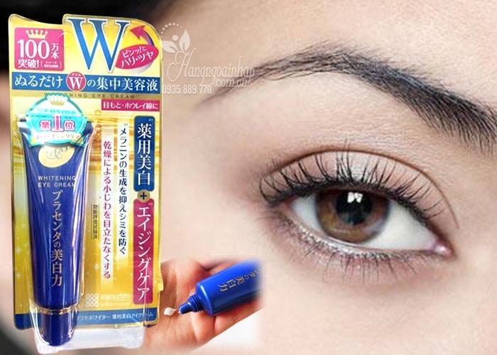 Kem trị thâm và nhăn mắt Meishoku Whitening Eye Cream 30g Nhật Bản