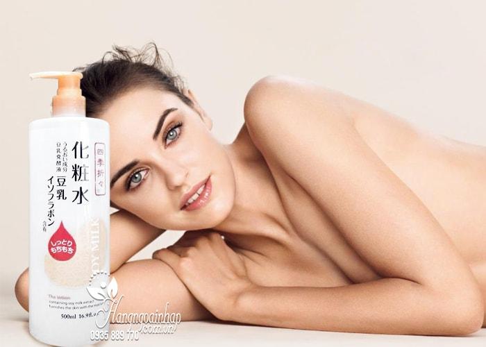 Dưỡng thể sữa đậu nành Soy Milk Moisturizing Lotion 500ml  2