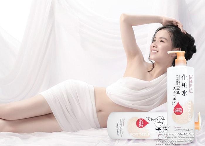 Dưỡng thể sữa đậu nành Soy Milk Moisturizing Lotion 500ml  4