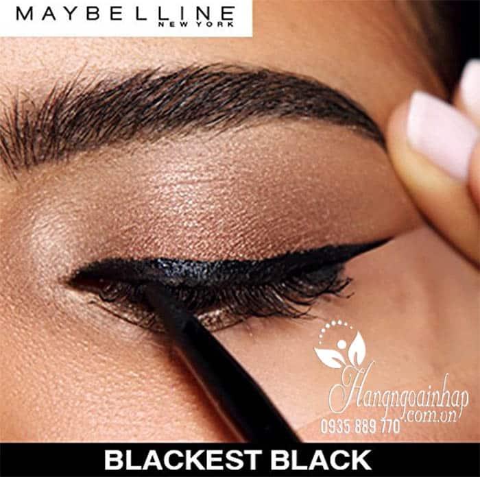 Gel kẻ mắt Maybelline Lasting Drama 24h màu đen của Mỹ 3