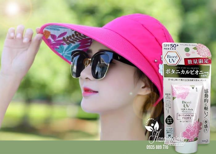 Kem chống nắng Biore UV Aqua Rich Botanical Peony 50ml 3