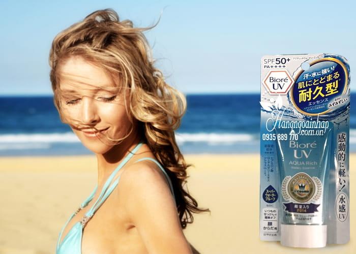 Kem chống nắng Biore UV Aqua Rich Watery Essence của Nhật 4