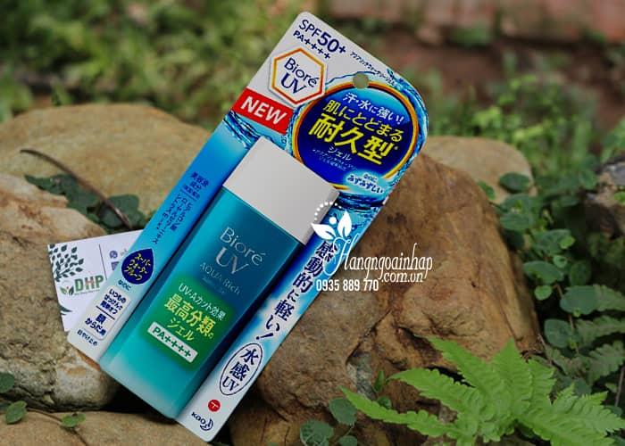Kem chống nắng Biore UV Aqua Rich Watery Gel 90ml mẫu mới 1