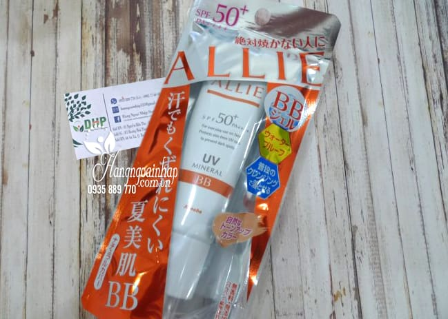 Kem chống nắng Kanebo Alllie BB UV Mineral 30g SPF50+ 1