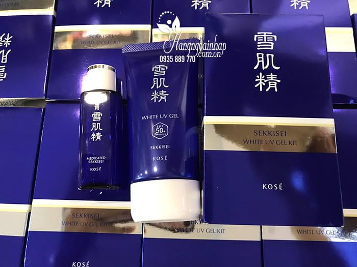 Kem chống nắng Kose Sekkisei White UV Gel 80g mẫu mới 2018 5