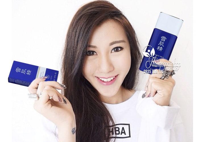 Kem chống nắng Kose Sekkisei White UV Milk 56ml của Nhật 4