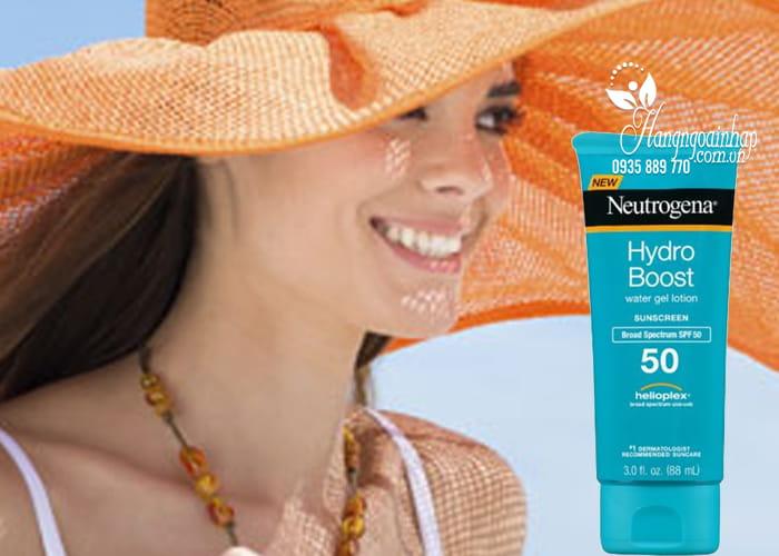 Kem chống nắng Neutrogena Hydro Boost Water Gel 88ml SPF50 5