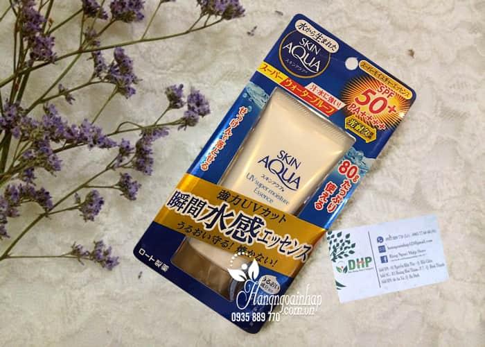 Kem chống nắng Rohto Skin Aqua UV Super Moisture Essence 80g 1