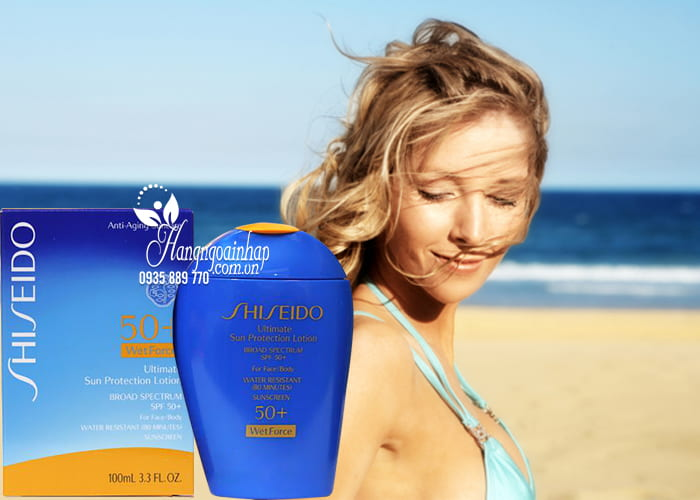 Kem chống nắng Shiseido Ultimate Sun Protection Lotion 100ml  2
