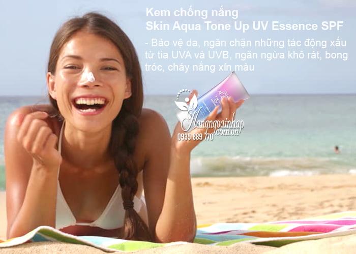 Kem chống nắng Skin Aqua Tone Up UV Essence SPF 50 Nhật Bản 2