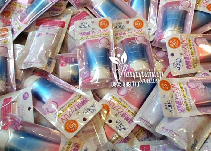 Kem chống nắng Skin Aqua Tone Up UV Essence SPF 50 Nhật Bản 3