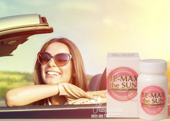 Viên uống chống nắng Be-Max The Sun 30 viên của Nhật 4