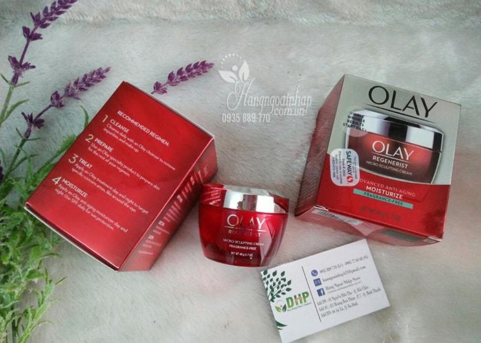 Kem dưỡng ẩm chống lão hóa Olay Regenerist Micro-Sculpting Cream Mỹ