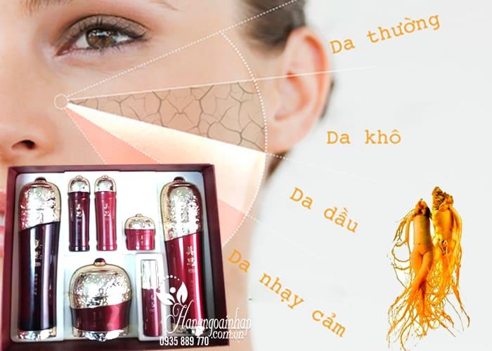 Bộ mỹ phẩm dưỡng da hồng sâm chính hãng Hàn Quốc