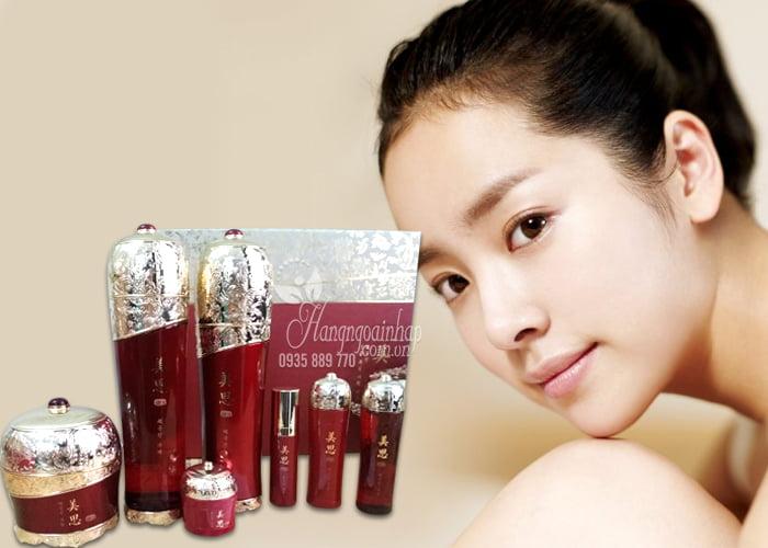Bộ mỹ phẩm dưỡng da hồng sâm Hàn Quốc được ưa chuộng trên thị trường quốc tế
