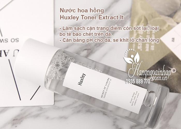 Bộ mỹ phẩm Huxley dưỡng trắng, chống lão hóa của Hàn Quốc 2