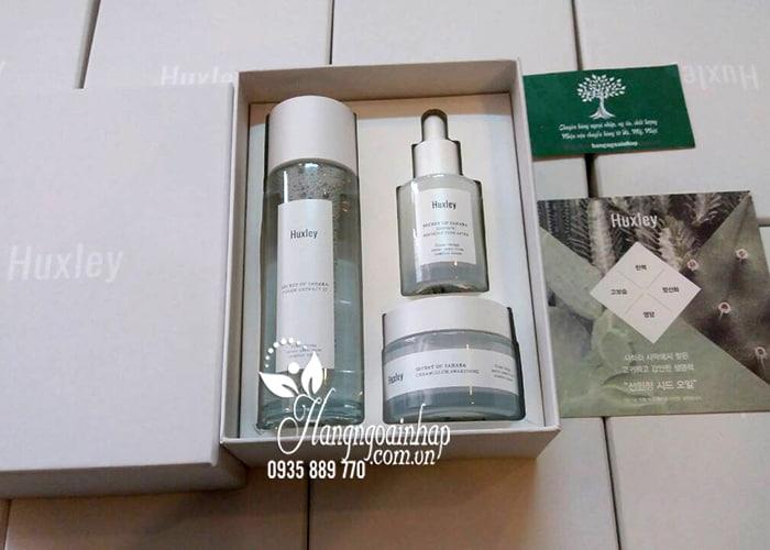 Bộ mỹ phẩm Huxley dưỡng trắng, chống lão hóa của Hàn Quốc 4