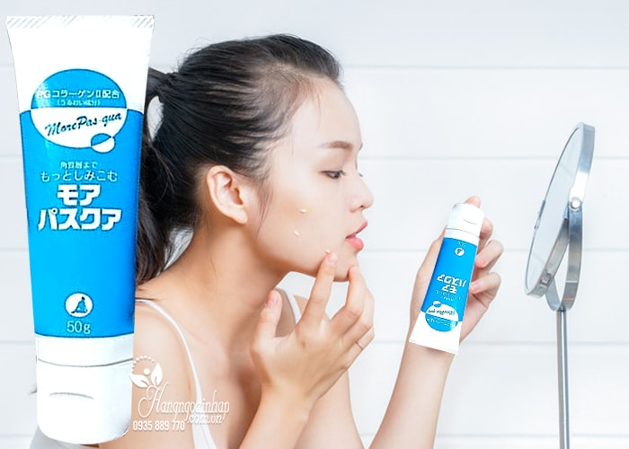 Gel PG Collagen sụn vi cá More Pas-qua 50g của Nhật Bản