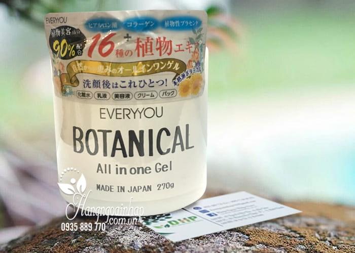 Kem dưỡng ẩm Botanical All In One Gel Everyyou 270g 1