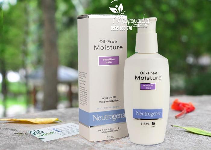 Kem dưỡng ẩm Neutrogena Oil-Free Moisture Sensitive Skin 1