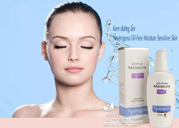 Kem dưỡng ẩm Neutrogena Oil-Free Moisture Sensitive Skin 4
