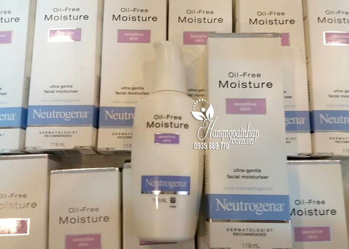 Kem dưỡng ẩm Neutrogena Oil-Free Moisture Sensitive Skin 8