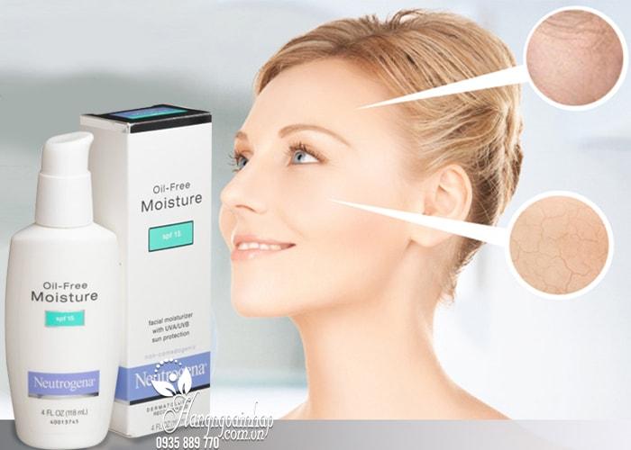 Kem dưỡng ẩm Neutrogena Oil-Free Moisture SPF15 của Mỹ 115ml 2