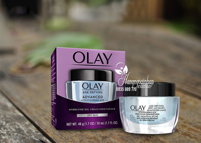 Kem dưỡng ẩm Olay Age Defying Advanced With Hyaluronic Acid 1