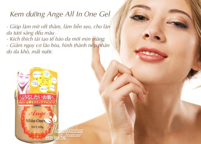 Kem dưỡng Ange All In One Gel 245g chính hãng Nhật Bản 4